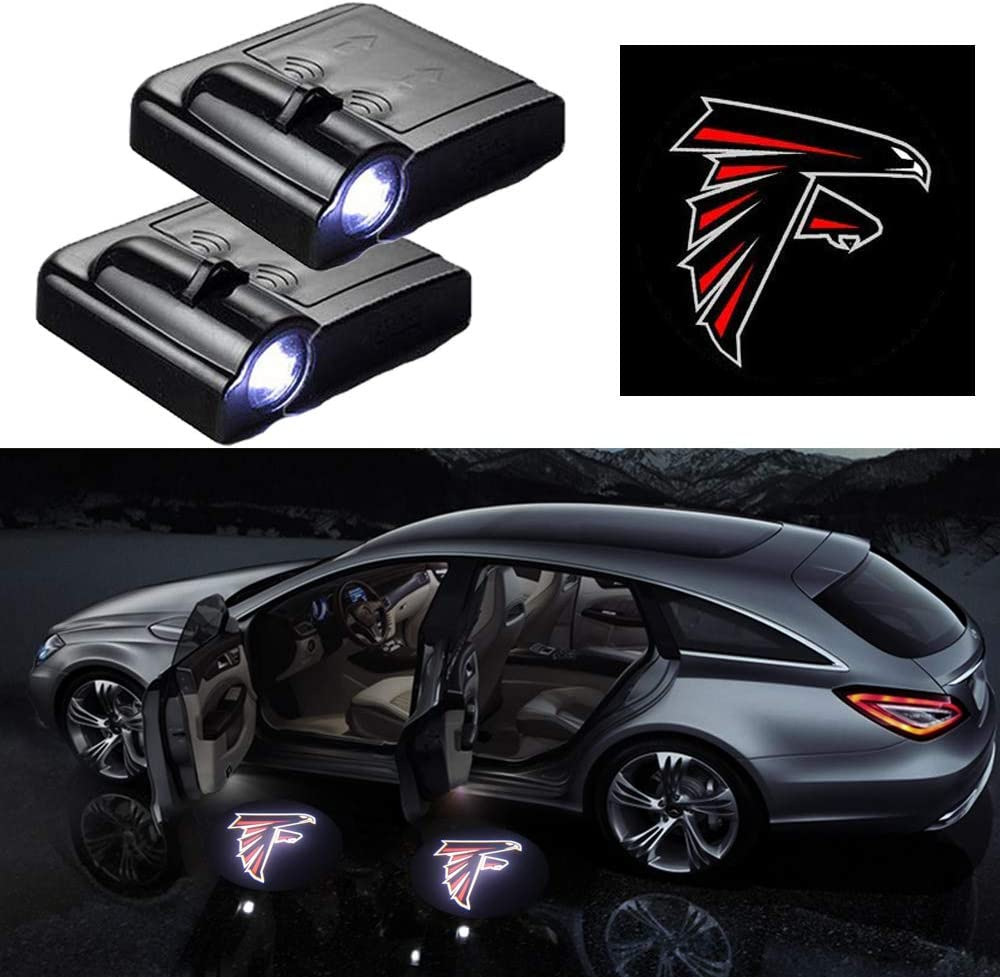 2Pcs for Toyota Car Door Lights Logo Car Door Led Projector Lights,Wireless Car Door Welcome Logo Lights for Toyota All Models
