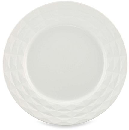 kate spade new york Castle Peak™ Dinner Plate in Cream - BedBathandBeyond.com