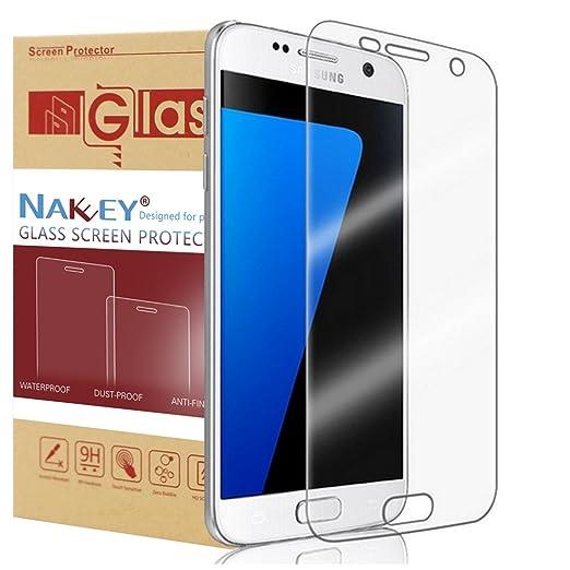 26 opinioni per Galaxy S7 Pellicola Protettiva, Nakeey Samsung Galaxy S7 Screen Protector