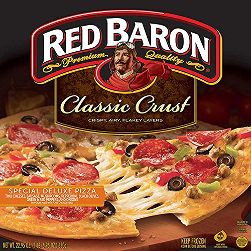 Red Baron Special Deluxe Classic Crust Pizza, 22.95 Ounce -- 16 per case. by Schwan's
