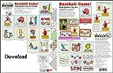 ScrapSMART - Baseball Game - Clip Art Software Collection - Jpeg & PDF files [Download]
