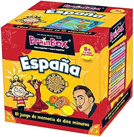 Brain Box- Brainbox españa, Color nd (The Green Board 93452): Amazon.es: Juguetes y juegos