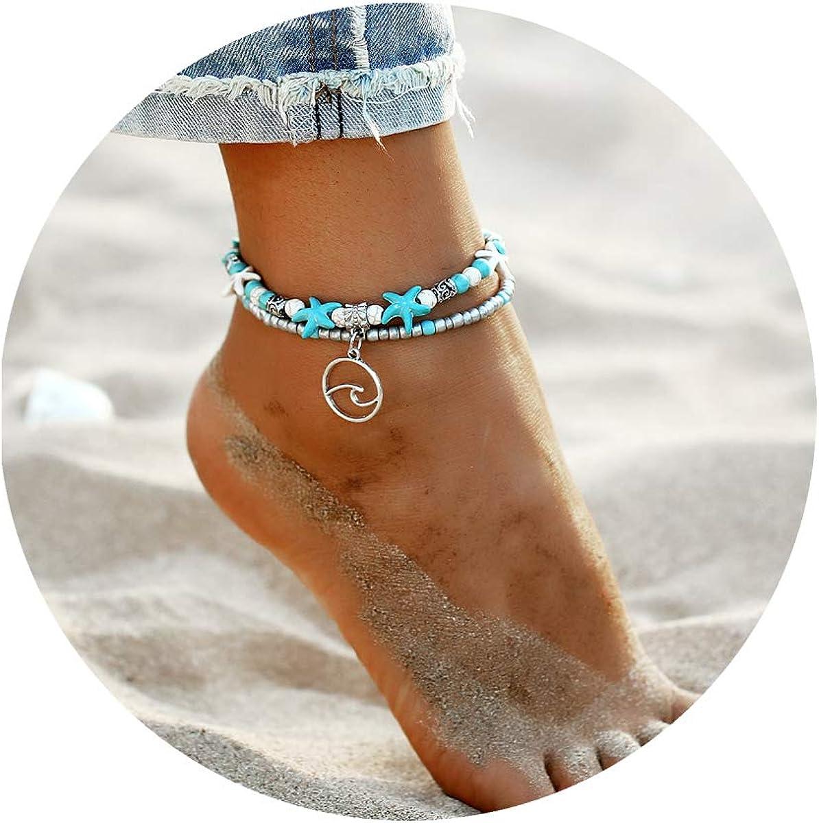 ASHMITA Blue Turtle Ankle...