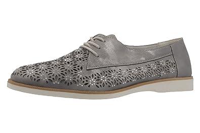 66ad421f5a8362 Remonte Halbschuhe in Übergrößen Grau R0404-42 große Damenschuhe   Amazon.de  Schuhe   Handtaschen