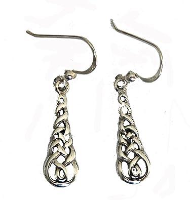 925 Sterling Silber keltischer Knoten 8 zum Aufhängen die Draht ...