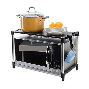 estante de cocina Acero inoxidable multifuncional Horno de ...