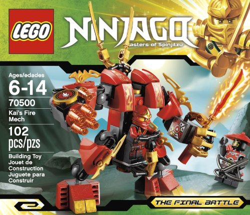 LEGO Ninjago Kais Fire Mech 70500 (Discontinued by manufacturer)
