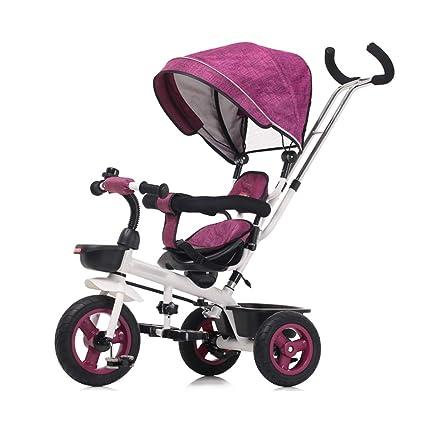 Jian E E-Carro Bicicleta de Triciclo para niños 1-3 años ...