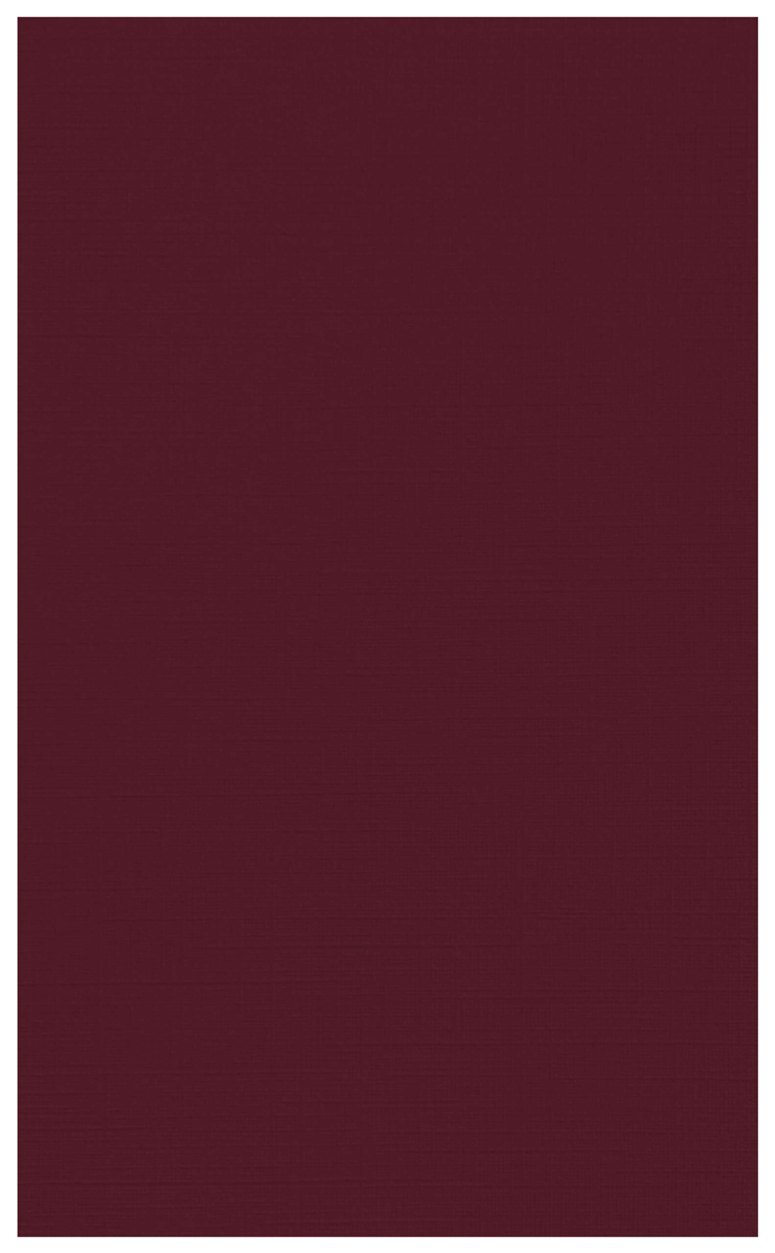 8 1/2 x 14 Cardstock - Burgundy Linen (250 Qty.) | Perfect for Holiday Crafting, Invitations, Scrapbooking, Cards and so much more! |81214-C-BGLI-250