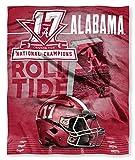 Alabama Crimson Tide 2017 NCAA Football Champions Silk Touch Throw