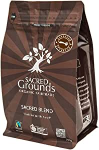 Sacred Grounds, Organic PNG Espresso, 250g