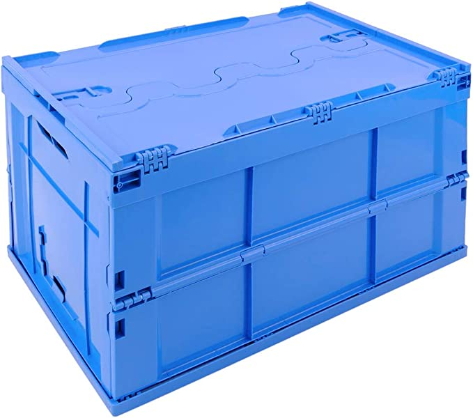 PrimeMatik - Caja de plástico EuroBox Plegable y apilable ...