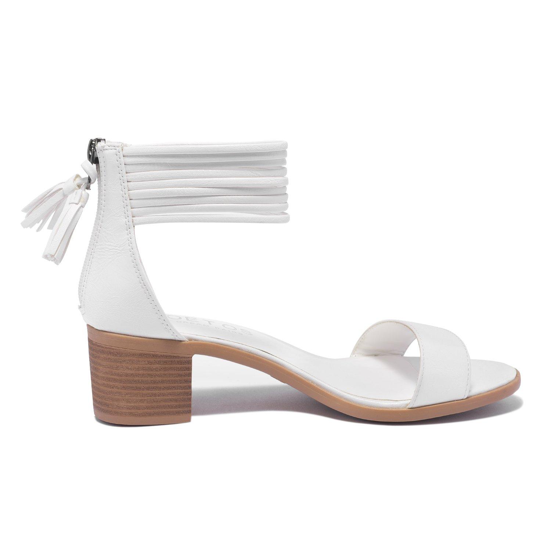 f15b0bfbc15 TOETOS Women s Ivy Fashion Block Heel Sandals  1540900843-61412 ...