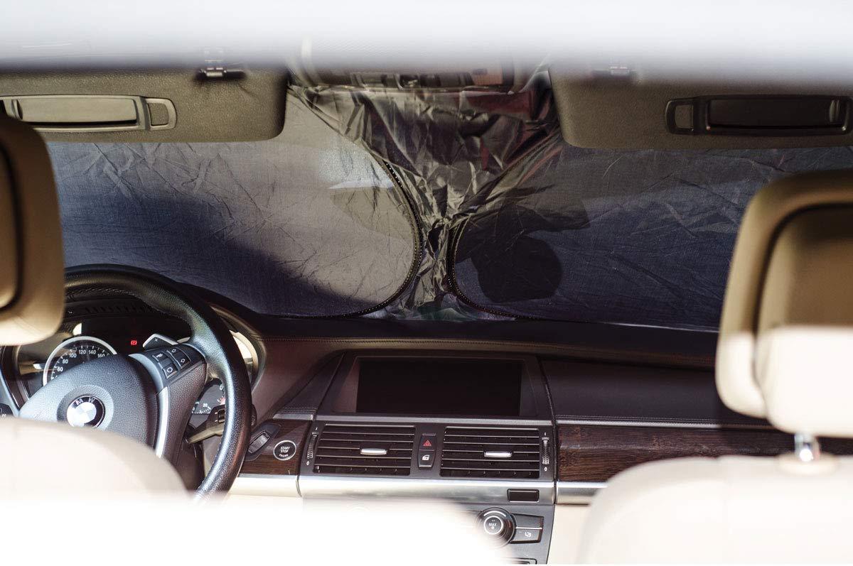 HABILL-AUTO Pare Soleil Avant Pliable Car 80x150cm