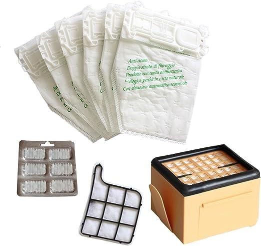 TeKeHom - Aspirador (12 bolsas + 2 filtros + 6 aromas aptos para ...