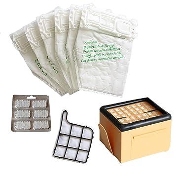TeKeHom - Aspirador (12 bolsas + 2 filtros + 6 aromas aptos ...