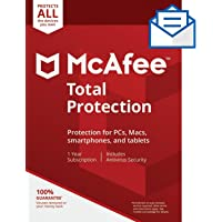 McAfee Total Protection Unlimited Device [Activation Code by Mail]