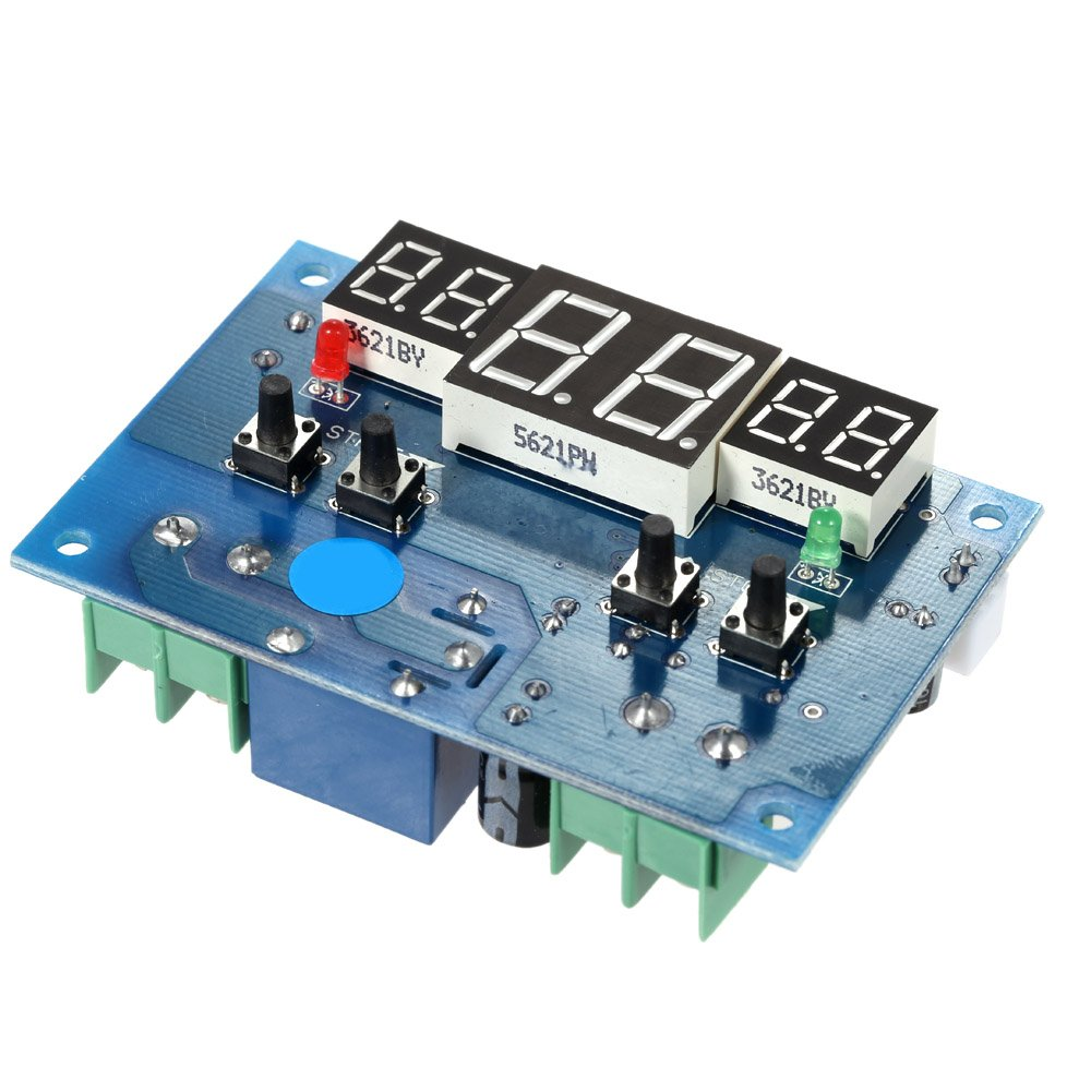 KKmoon Modulo di Regolatore Temperatura 12V 9/°C-99/°C Intelligente Digitale LED Termoregolatori per Controllo Temperatura dellacqua// Incubatrice
