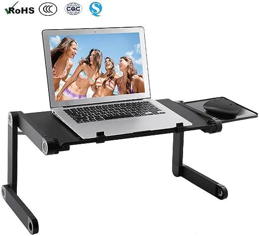 Flawbearn ALKK Laptop Table, Soporte Ergonómico para Ordenador ...