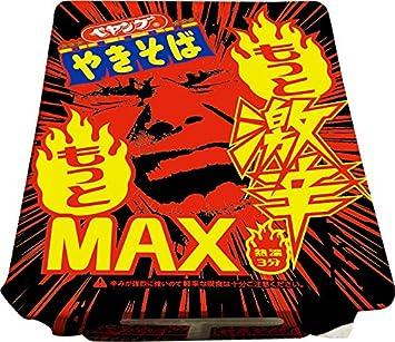 ペヤング もっともっと激辛MAXやきそば 118g