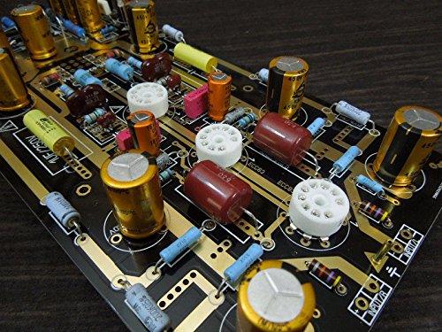 FidgetFidget Tube Phono Amplifier Kit DIY MM RIAA Turntables Ear834  12AX7/ECC83 For Audio