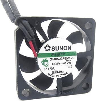 SUNON GM0503PEV1-8 Slim 6mm thickness 3006 5V 0.7W DC brushless Cooling fan