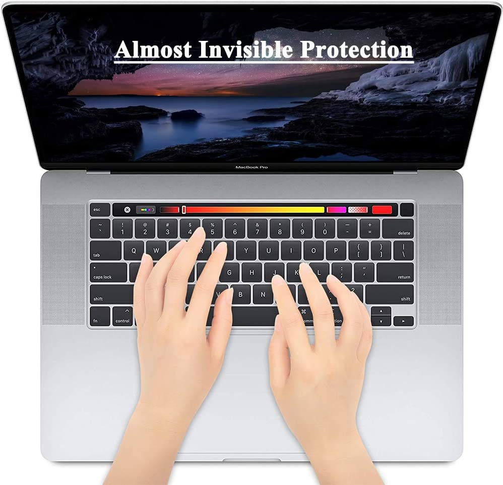 Masino TPU Keyboard Cover for MacBook Air 13 inch A2179 2020 Released with Touch ID /& Retina Display US Version Ultra Thin Protective Skin for 2020 Air 13, TPU