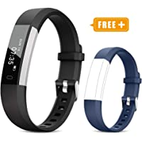 TOOBUR Fitness Tracker Watch for Kids Women Men, Pedometer, Calorie Counter, Step Counter Watch,Slim Waterproof Activity Tracker with Sleep Monitor and Vibrating Alarm Clock