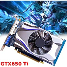 NXDA For NVIDIA GeForce GTX650Ti 1GB GDDR5 128bit Gaming Graphics Card PC Video Graphics Cards support VGA DVI HDMI (GTX650 Ti)