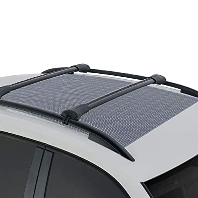 BDK Anti-Slip Rooftop Cargo Mat Protective Liner for Roof Cargo Bags - Rubber Grip Non-Adhesive Scratch-Proof Cushioned Layer (RM-001): Automotive