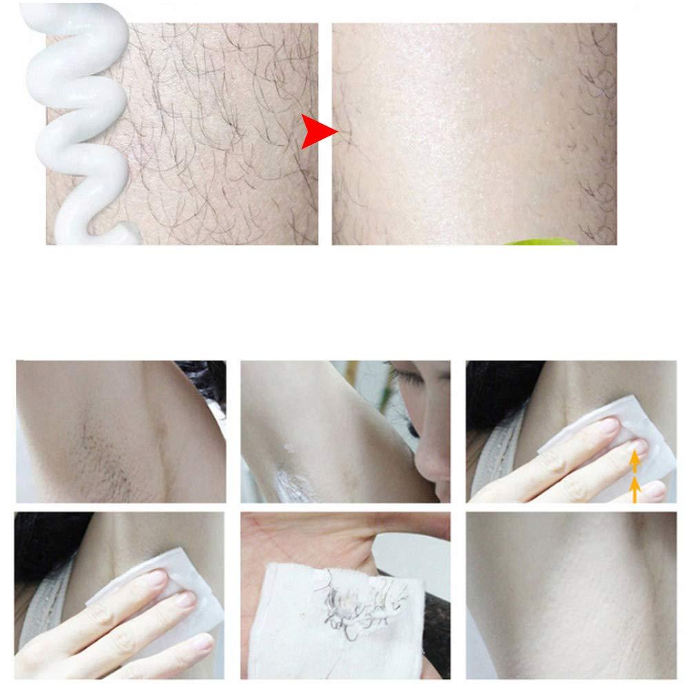 Crema de afeitar, 50g Crema depilatoria suave para el cuidado de ...