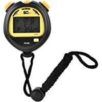 Cronómetro deportivo digital de mano con pantalla LCD profesional, cronómetro electrónico Cronógrafo Cronómetro contador temporizador