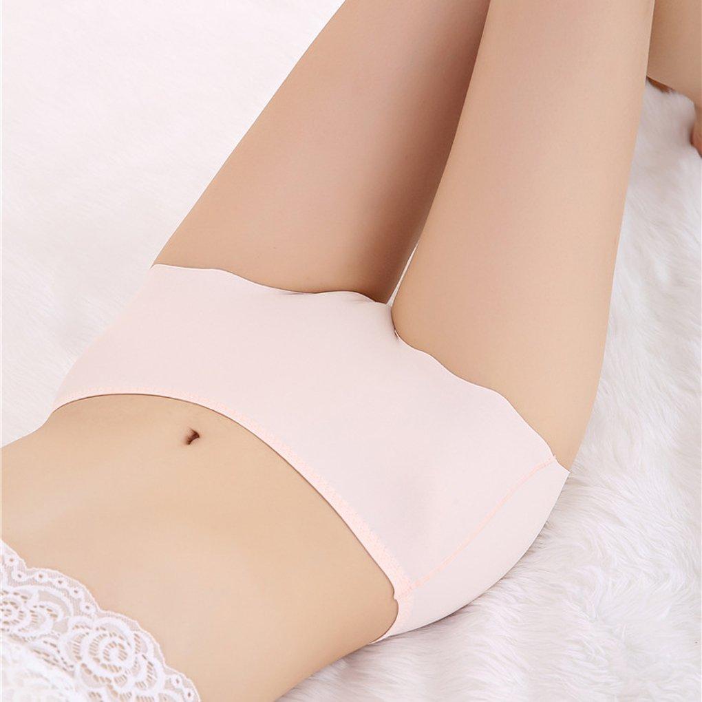 d9833b612e Amazon.com  Omkuwl Women s Lingerie Seamless Soft Briefs Bikini Hipster Underwear  Panties Underpants skin color plus size  Home   Kitchen