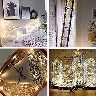 JaneRa 2 Pack Solar String Lights,Waterproof 30 LED Crystal Bubble Globe String Lights for Outdoor/Indoor Decorations, Colorful