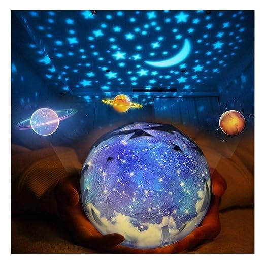 Luz Giratoria de La Noche de La Estrella, Proyector Kids Star ...