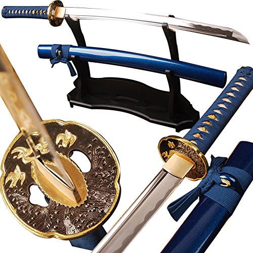 Shijian Handmade Samurai Sword Japanese Wakizashi Full Tang Sharp Edge Knife