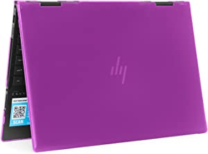 "mCover Hard Shell Case for 2019 15.6"" HP Envy X360 15-DSxxxx / 15-DRxxxx Series (NOT Compatible with X360 15-AQxxx / 15-BPxxx and Other Series) (Purple)"