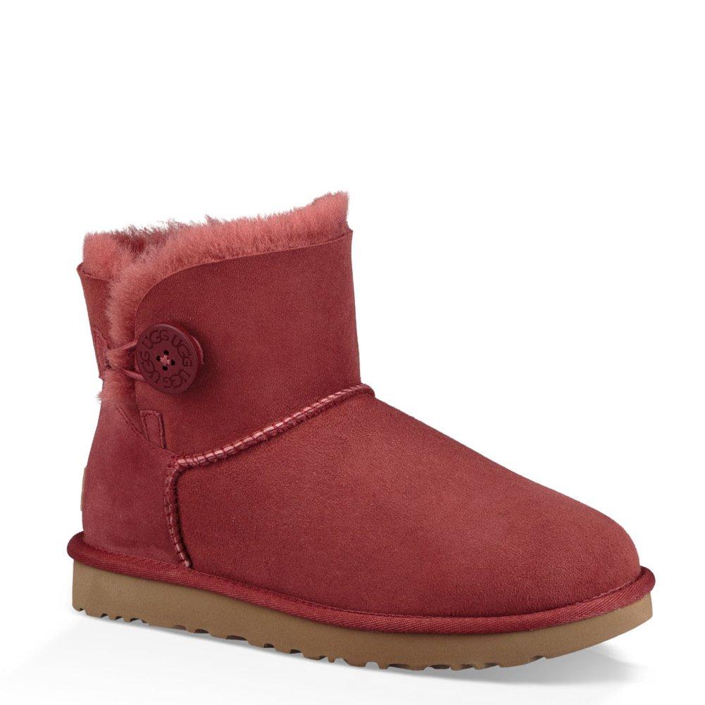 9548ca2e0e UGG Damen Mini Bailey Button Kurzschaft Stiefel: Ugg: Amazon.de: Schuhe &  Handtaschen