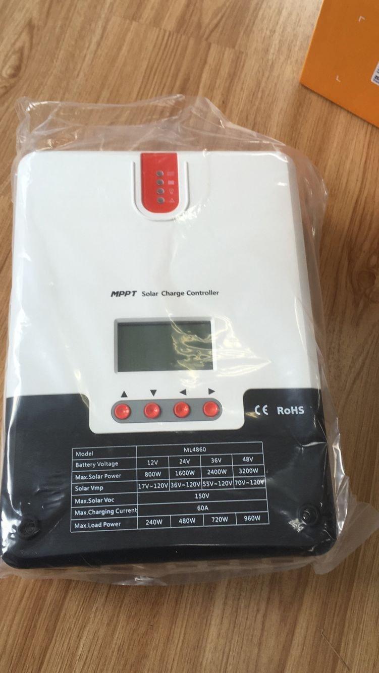 Mppt Solar Charge Controller 60a 12v 24v 36v 48v 150v Simple Panel Controllersmpptfrontendpng Pv Input For Lead Acid Lithium System Battery Charging Negative Ground Garden