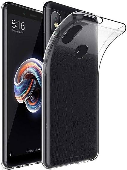 Funda Xiaomi Redmi Note 6 Pro Silicona Transparente, Ultrafina ...