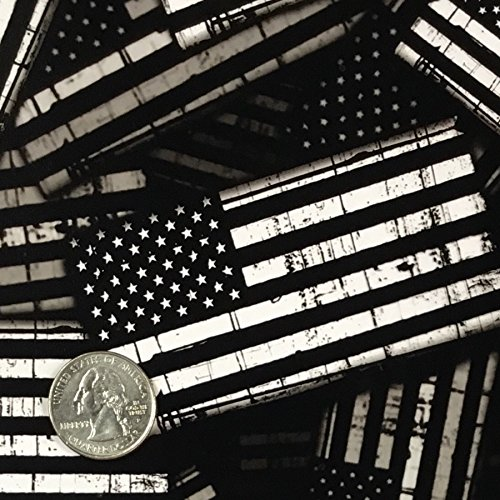 Hydrographic Film Flags Dip Ape Black & Transparent American Flag Garrison USA Hydrographics Water Transfer Hydro Dip Dipping Kit