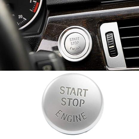 Amazon.com: Botón de interruptor de motor de arranque rojo ...
