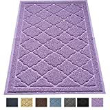 "Premium Large Cat Litter Mat 35"" x 23"", Traps Messes, Easy Clean, Durable, Litter Box Mat with Scatter Control - Soft on Kitty Paws"