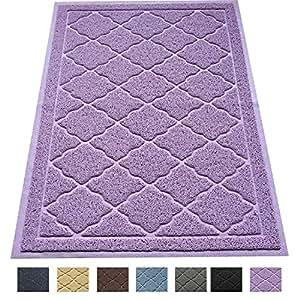 """Large Litter Mat 35"""" x 23"""" Cat Litter Mat, Traps Messes, Easy Clean, Durable, Non Toxic Trapper Rug - Litter Box Mat, Cat Mat, Kitty Litter Mat"""