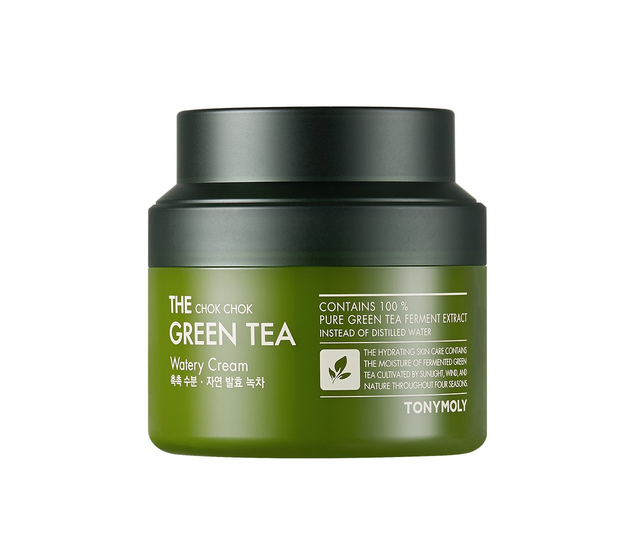 TONYMOLY The Chok Chok Green Tea Watery Cream, 3.4 fl. oz.