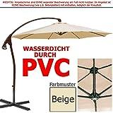 paramondo parapenda ampelschirm 4 x 3m rechteckig grau gestell inkl standkreuz. Black Bedroom Furniture Sets. Home Design Ideas