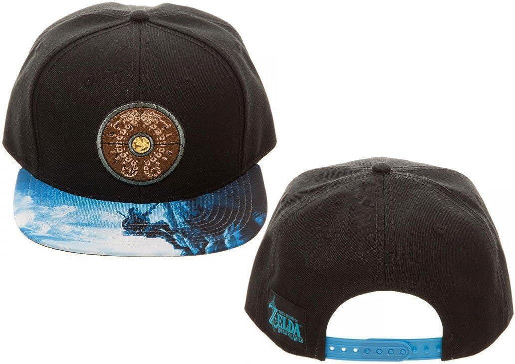 bioworld Legend of Zelda Breath of The Wild Snapback Hat
