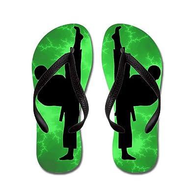 5e1c01af9c81ff DIYCCY Taekwondo Karate Green Boys - Flip Flops