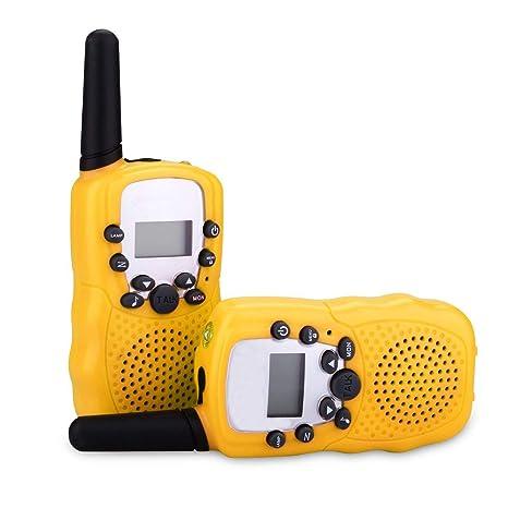 ENGPOW Walkie Talkies for Kids,Mini Walkie Talkies with Long Range 3 Channels