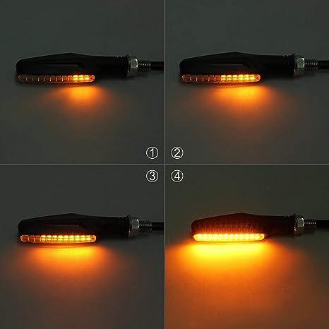 Prozor Blinker Licht 4 Stück 12led Fließende Elektronik